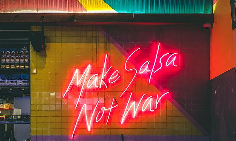 make-salsa-not-war