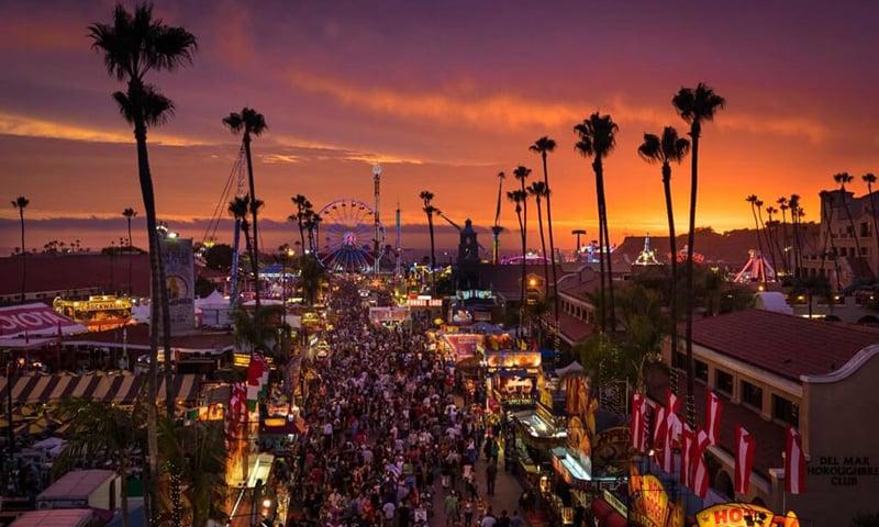 san-diego-fair-fun-zone-sunset