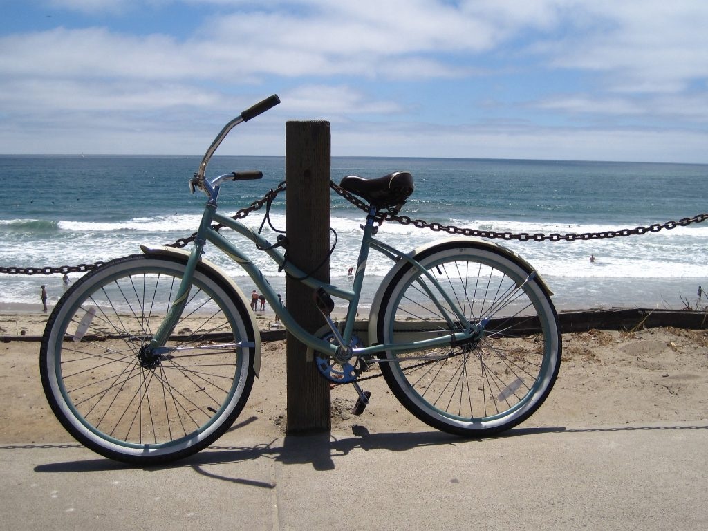 Bike in Pacific Beach, San Diego