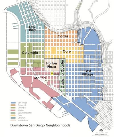 Downtown San Diego Neighborhoods - 92101