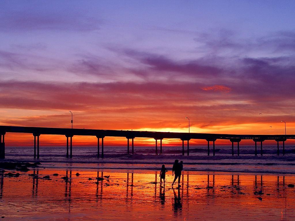 Ocean Beach Pier in San Diego