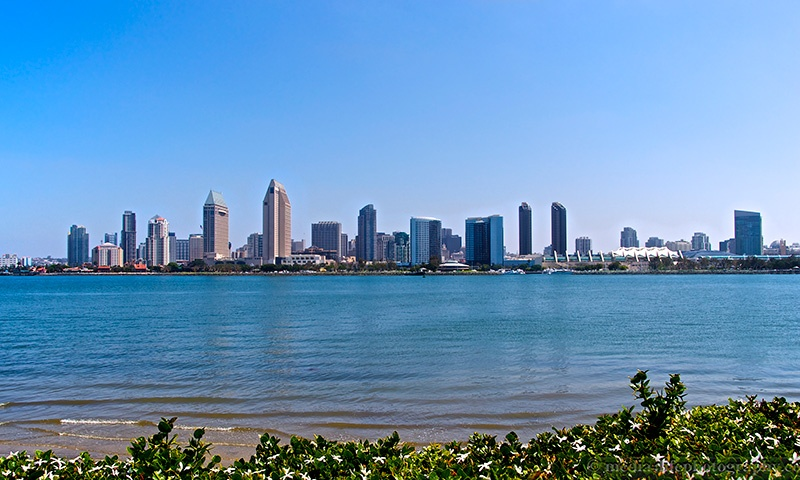 Downtown Coronado Skyline View