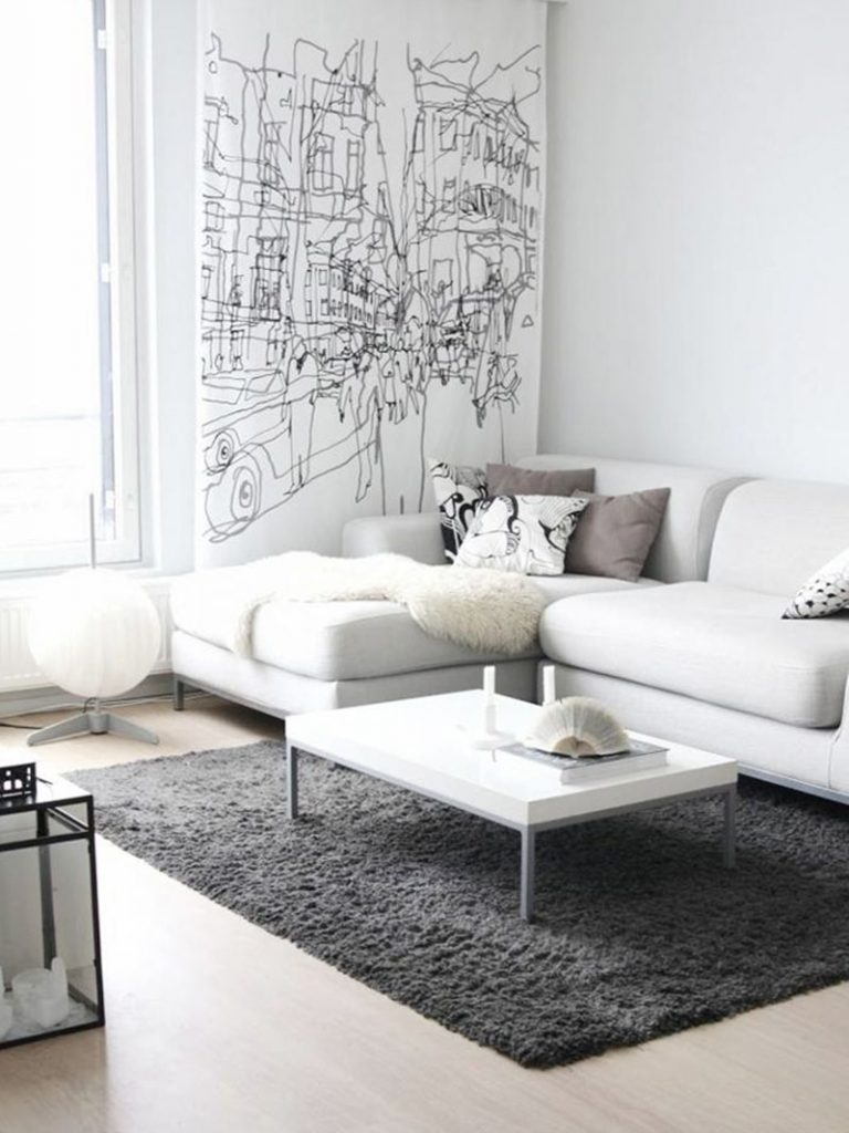 grey-and-white-living-room