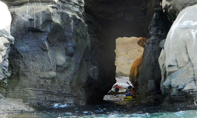 Kayaking in La Jolla Coves