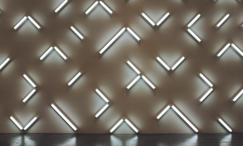 LED lights at the Museum Of Contemporary Art in San Diego