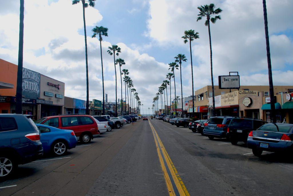 Newport Ave, Ocean Beach, San Diego