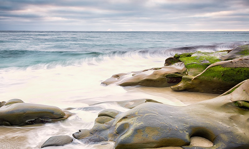 Timelapse Photo of Windanseas Beach in La Jolla