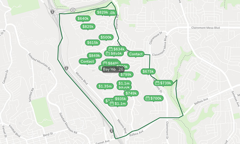 bay-ho-real-estate-map