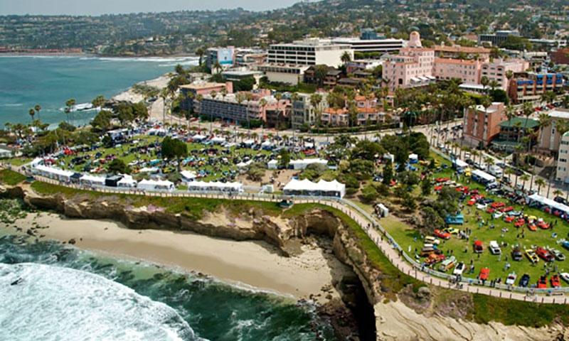 Arial Photo of La Jolla Beach