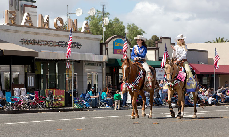 Ramona-Ca-Photographer-Parade-horses-1 copy