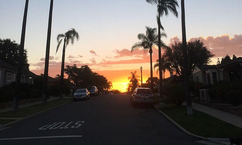 talmadge-neighborhood-sunset