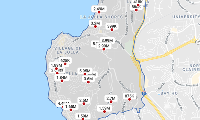 real-estate-trends-la-jolla-map-of-homes-for-sale