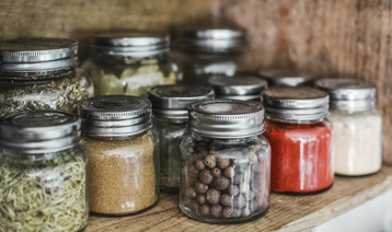 small space jars